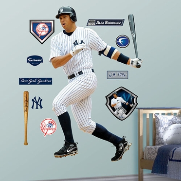 New York Yankees Alex Rodriguez Fathead Wall Graphic