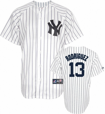 New York Yankees Alex Rodriguez Replica Player Jersey