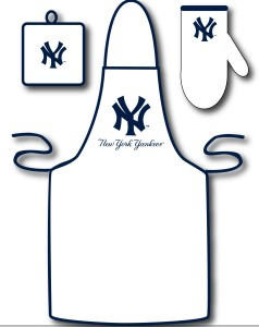 New York Yankees Apron and Mitt Set