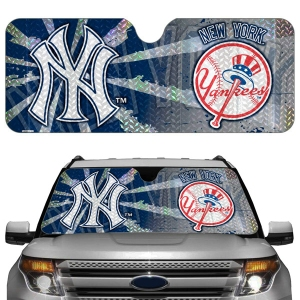 New York Yankees Auto Sun Shade