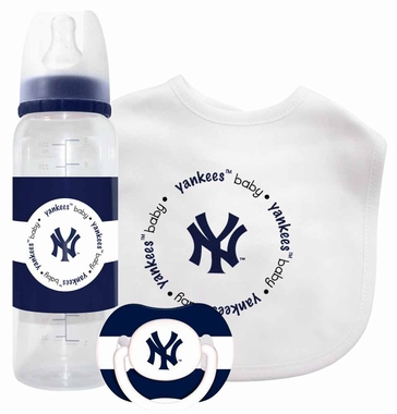 New York Yankees Baby Gift Set