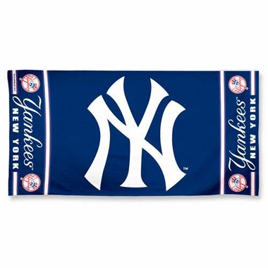 New York Yankees Beach Towel