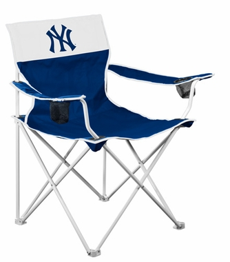 New York Yankees Big Boy Adult Folding Logo Chair