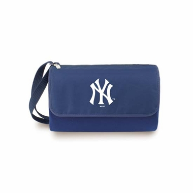 New York Yankees Blanket Tote (Navy)