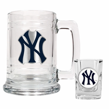 New York Yankees Boilermaker Set