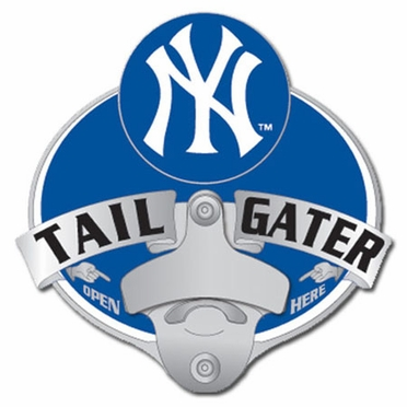 New York Yankees Bottle Opener Hitch Cover