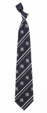 New York Yankees Cambridge Woven Silk Necktie