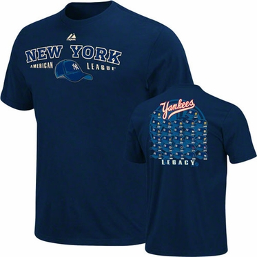 New York Yankees Cap Nostalgia T-Shirt