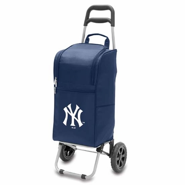 New York Yankees Cart Cooler (Navy)