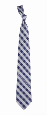 New York Yankees Check Poly Necktie