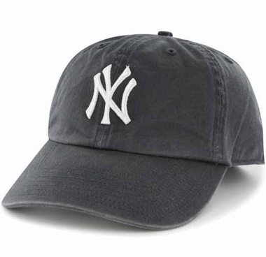 New York Yankees Clean Up Adjustable Hat - Navy