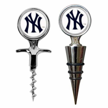 New York Yankees Corkscrew and Stopper Gift Set