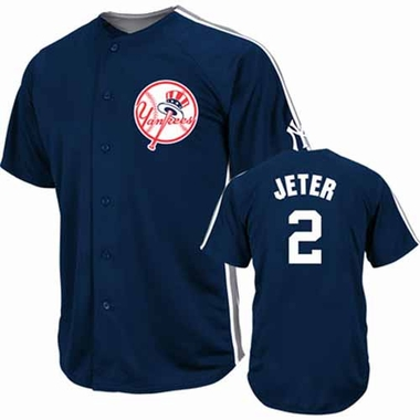 New York Yankees Derek Jeter Crosstown Rivalry Jersey