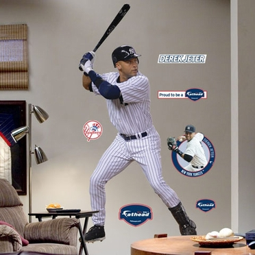 New York Yankees Derek Jeter Fathead Wall Graphic