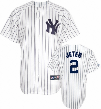 New York Yankees Derek Jeter Replica Player Jersey