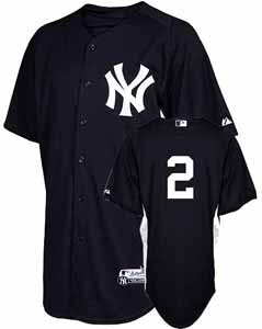 New York Yankees Derek Jeter YOUTH Batting Practice Jersey - Large