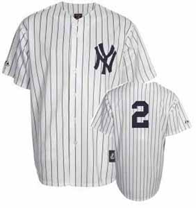 New York Yankees Derek Jeter YOUTH Replica Player Jersey - Large
