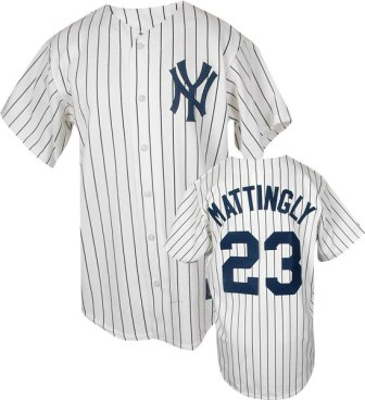 New York Yankees Don Mattingly Replica Throwback Jersey