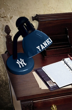 New York Yankees Dorm Lamp