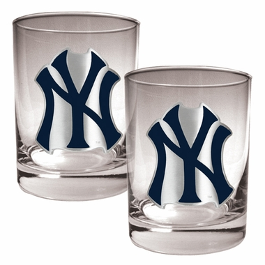 New York Yankees Double Rocks Set