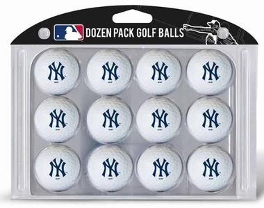 New York Yankees Dozen Golf Balls