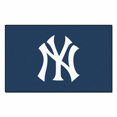 New York Yankees Economy 5 Foot x 8 Foot Mat