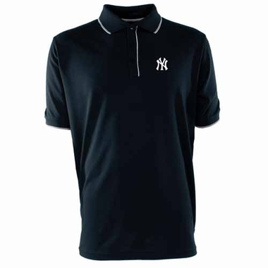 New York Yankees Mens Elite Polo Shirt (Team Color: Navy)