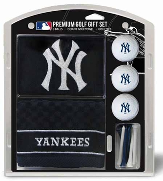 New York Yankees Embroidered Towel Gift Set