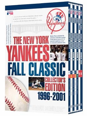 New York Yankees Fall Classic Collector's Edition 1996-2001 DVD Set