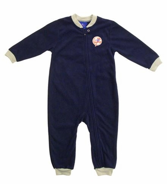 New York Yankees Fleece Toddler Sleeper Pajamas