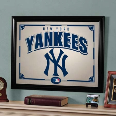 New York Yankees Framed Mirror