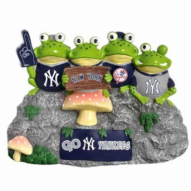 New York Yankees Frog Fan Bench