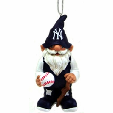 New York Yankees Gnome Christmas Ornament