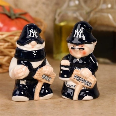 New York Yankees Gnome Salt & Pepper Shakers