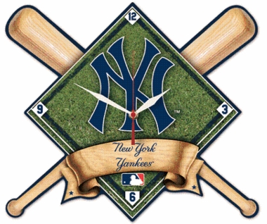New York Yankees High Definition Wall Clock