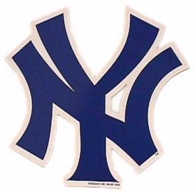 New York Yankees Individual Car Magnet