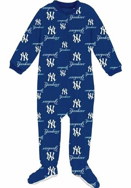 New York Yankees Infant Footed Coverall Sleeper