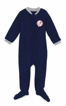New York Yankees Infant Footed Sleeper Pajamas