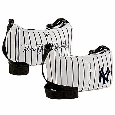 New York Yankees Jersey Material Purse