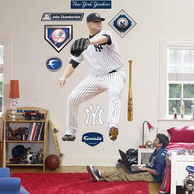 New York Yankees Joba Chamberlain Fathead Wall Graphic