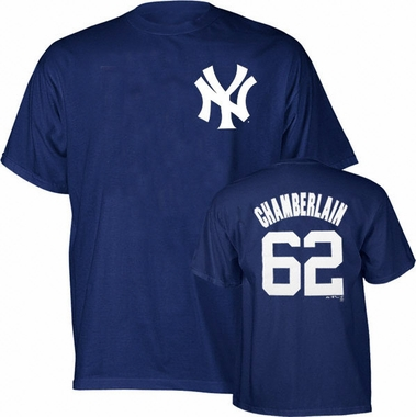 New York Yankees Joba Chamberlain Name and Number T-Shirt