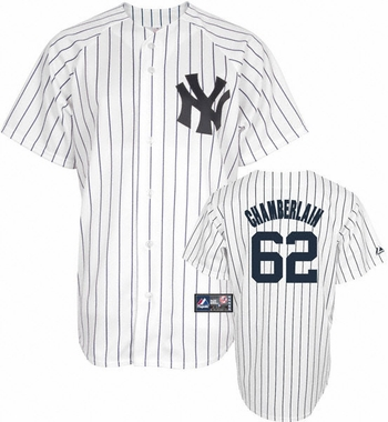 New York Yankees Joba Chamberlain Replica Player Jersey