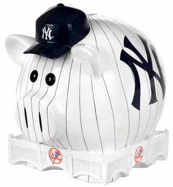 New York Yankees Large Thematic Piggy Bank