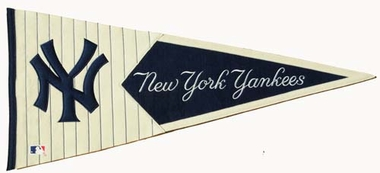 New York Yankees Large Wool Pennant