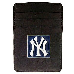 New York Yankees Leather Money Clip (F)