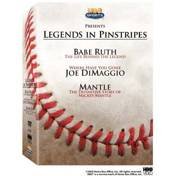 New York Yankees Legends in Pinstripes DVD Set
