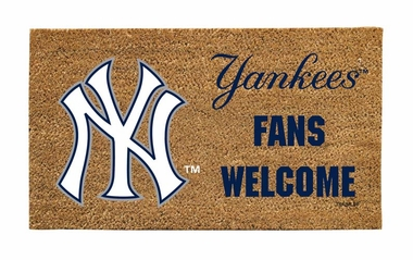 New York Yankees Lighted Coir Mat