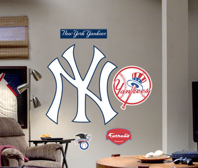 New York Yankees Logo (NY) Fathead Wall Graphic