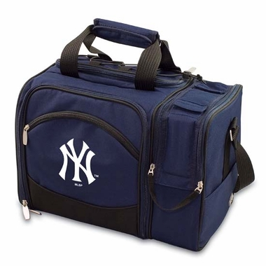 New York Yankees Malibu Picnic Cooler (Navy)