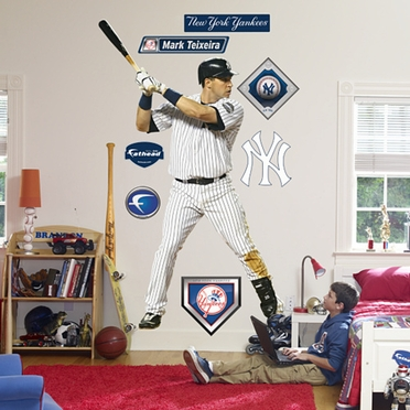 New York Yankees Mark Teixeira Fathead Wall Graphic